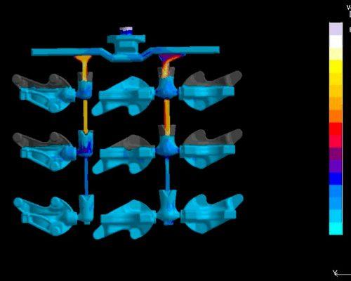 Simulación de velocidad de llenado