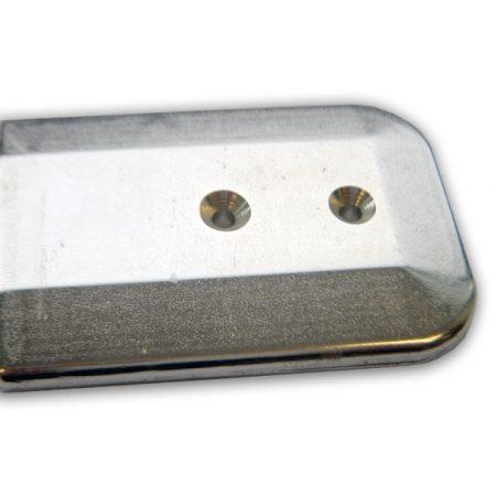 Pisadera forjada en aluminio