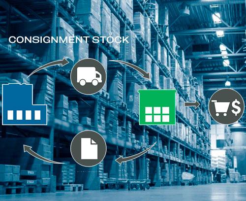Logística -Consignment stock - Sistema Kanban