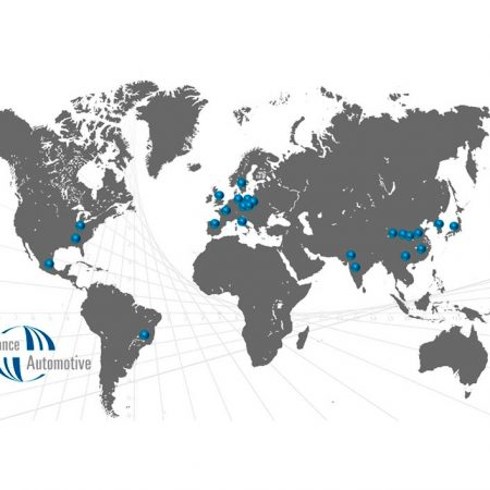 Mapa Sedes Global Alliance Automotive