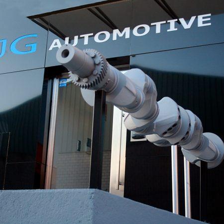 Main entrance building JG Automotive