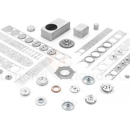 Estampación progresiva piezas metálicas