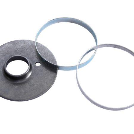 Estampación manual - componente metálico 1