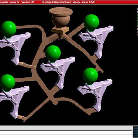 3D Filling Simulation - Casting