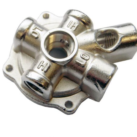 Aluminum forged valve - forging non-ferrus