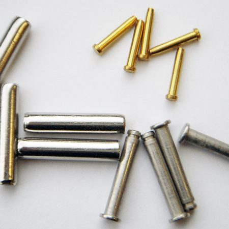 Forging non-ferrus pins-Aluminum and brass