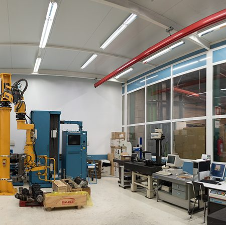 Technical center for quality processes of mechanical components