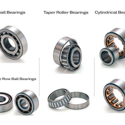 ball bearing-tap roller bearing-cylindrical bearing