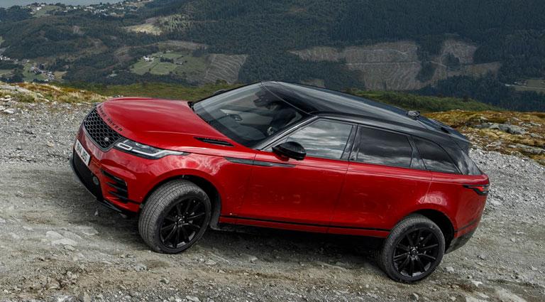 Range Rover velar 3d fußraumschalen Set año de fabricación a partir de 2017