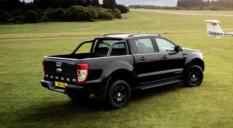 Ford Ranger Black Edition Black Is Fashionable