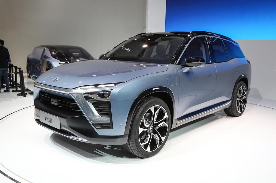 Nio Es8 The Chinese Alternative To Tesla Model X With 644 Hp And For Half Price