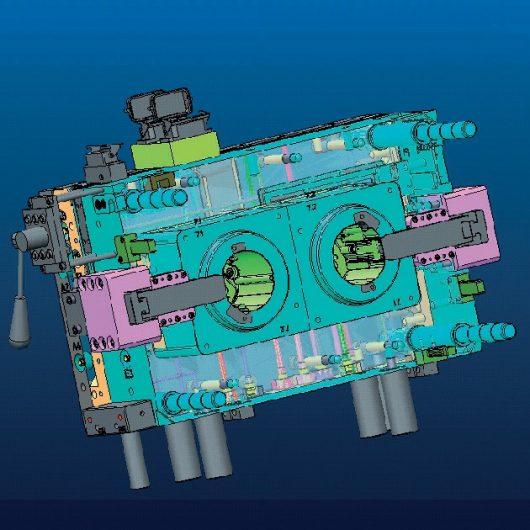Diseño y desarrollo de moldes por inyección de plástico