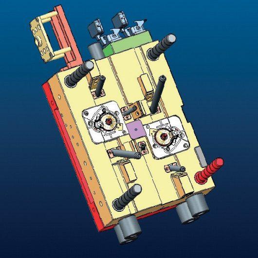Diseño y desarrollo de moldes y piezas por inyección de plástico