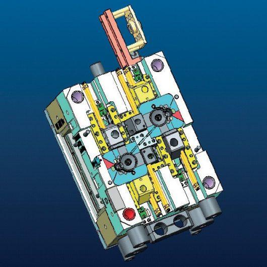 Diseño y desarrollo piezas de inyección plástico
