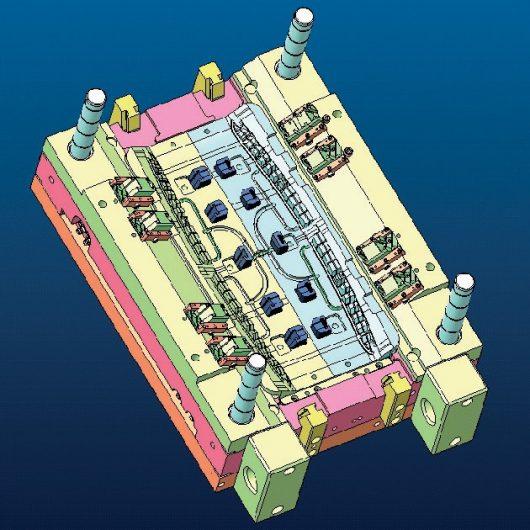 Mecanizado por electroerosion-Fabricación Moldes Inyección -Diseño de moldes piezas inyección de plástico automoción