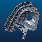 Pieza de iluminación - Moldes inyección de plástico automoción