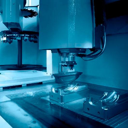 Mecanizado por electroerosion-Fabricación Moldes Inyección Plástico