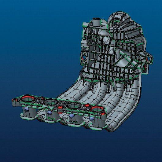 Diseño de moldes piezas inyección de plástico automoción