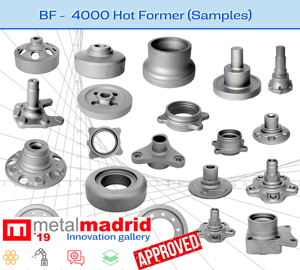 BF 4000 - FORGING will attend as a technological innovation in MetalMadrid 19