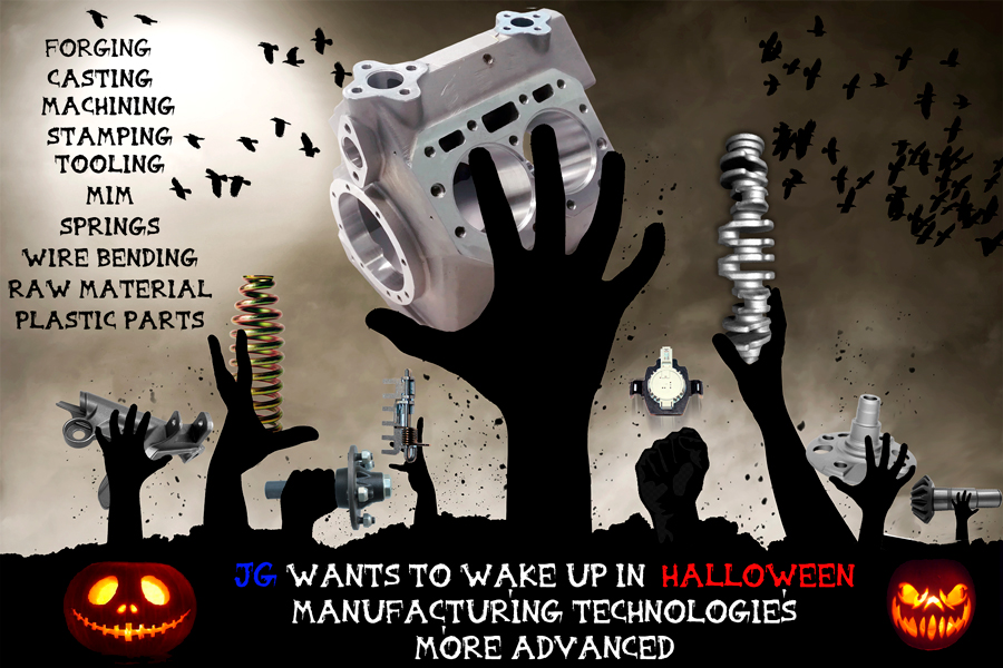 JG AUTOMOTIVE MANUFACTURING TECHNOLOGIES: FORGING, MACHINING, STAMPING, FOUNDING, PLASTIC PARTS