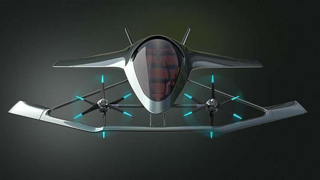 coche volador aston martin 2020