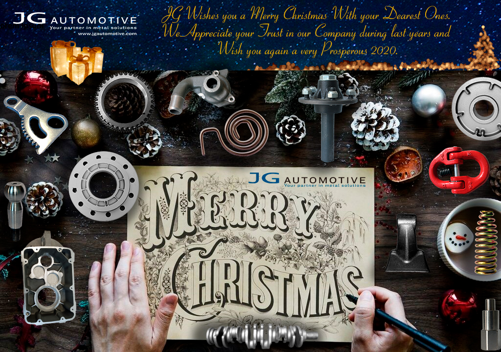 JG Team Wish you a Merry Christmas With your Dearest Ones.