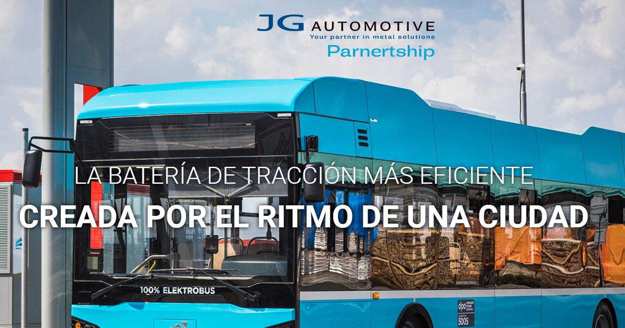 desarrollo y suministro de sistemas de baterías para autobuses