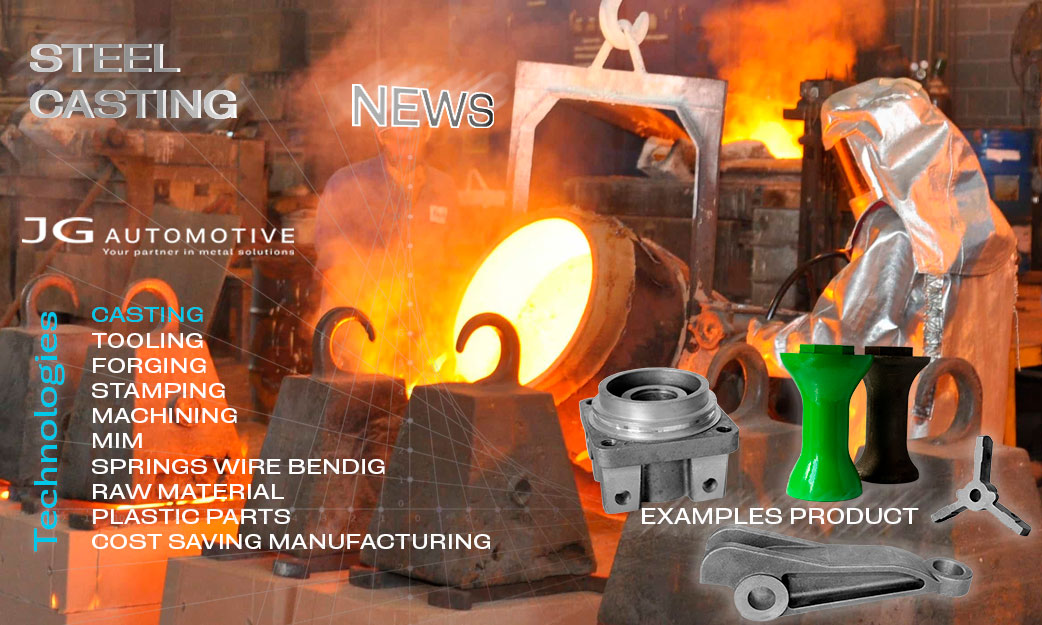 Manufacturing of cast steel parts