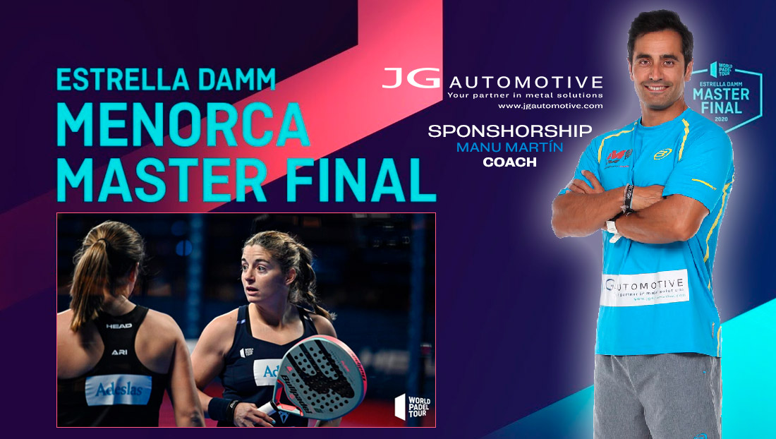 master final Estrella Damm 2020 Manu Martin Sponsorship JG Automotive