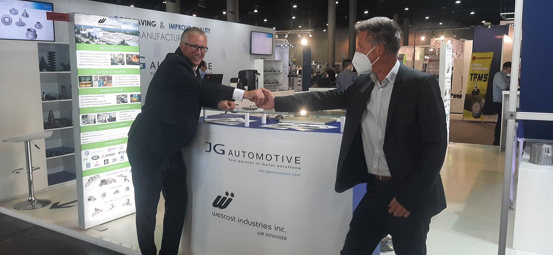 Wescast Industry Partner Automechanika Frankfurt 2021 JG Automotive Stand